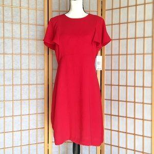 Sharagano Red Mini Dress